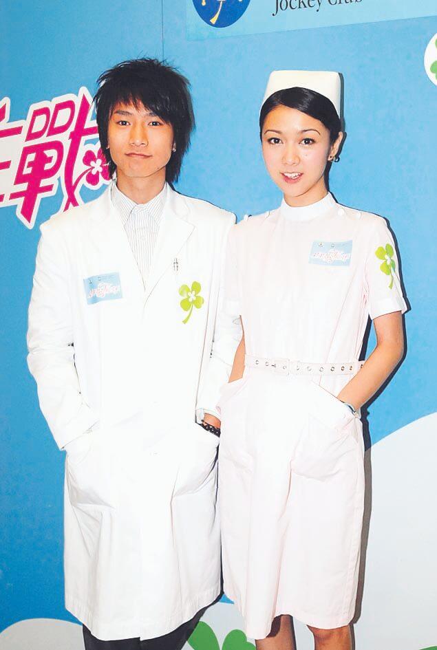 陳柏宇和薛凱琪一起為青春劇《盛裝舞步愛作戰》演出