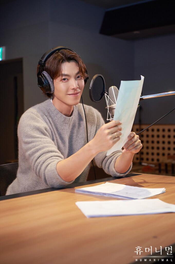 金宇彬今年第一項工作,是為MBC 紀錄片旁述。