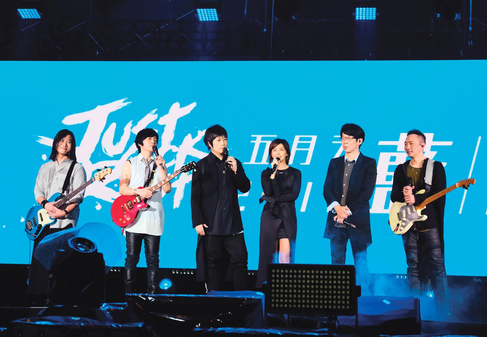 孫燕姿上月出席五月天桃園演唱會,率先為新巡唱熱身?