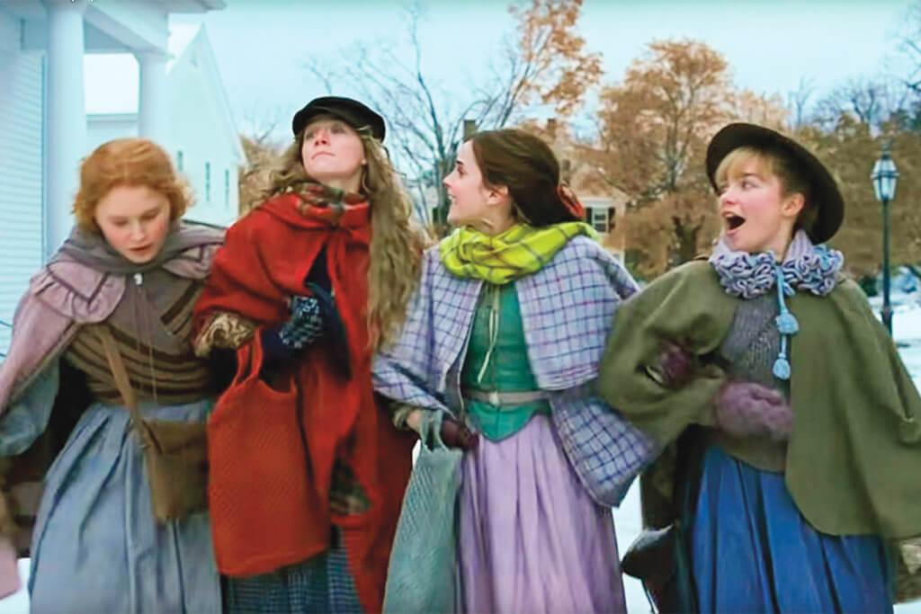 少女不識愁滋味,《小婦人》的從前版本都是四姊妹一起長大。但來到Me世代,新版開篇,改成四個女孩都是獨立個體。