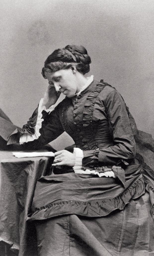 沒有她就沒有《小婦人》,作者路易莎梅奧爾科特。我們現在看到的電影,是原著上集和下集《好妻子》的合體。