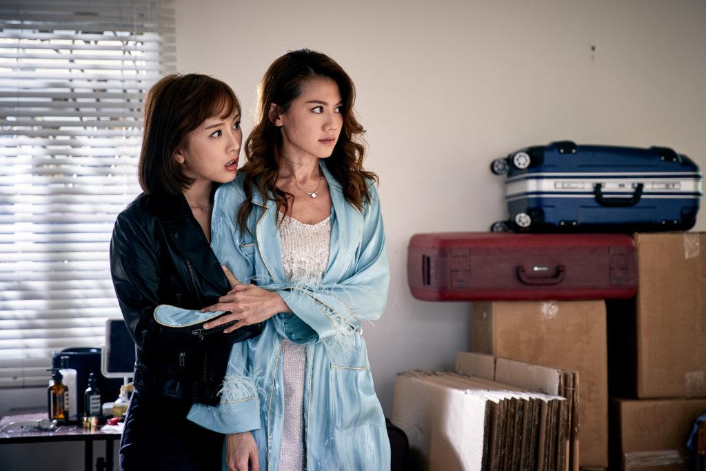 周秀娜與陳靜飾演相依為命的兩姊妹