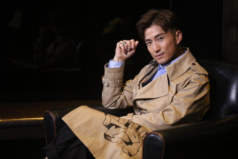 陳山聰首次演男一就有份被提名「最佳男主角」,他坦言是今年最好的禮物。