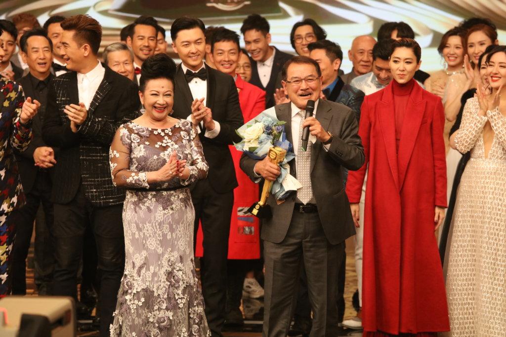 劉丹早前獲頒「萬千光輝演藝人大獎」,入行五十二年首次獲頒獎項的他,心情激動。