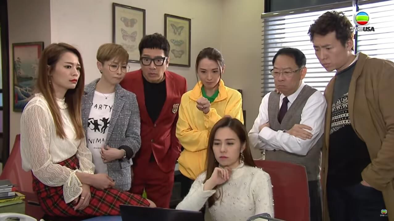 煒哥飾演清潔工娟姐,受呂慧儀所托與群姐大鬥法。
