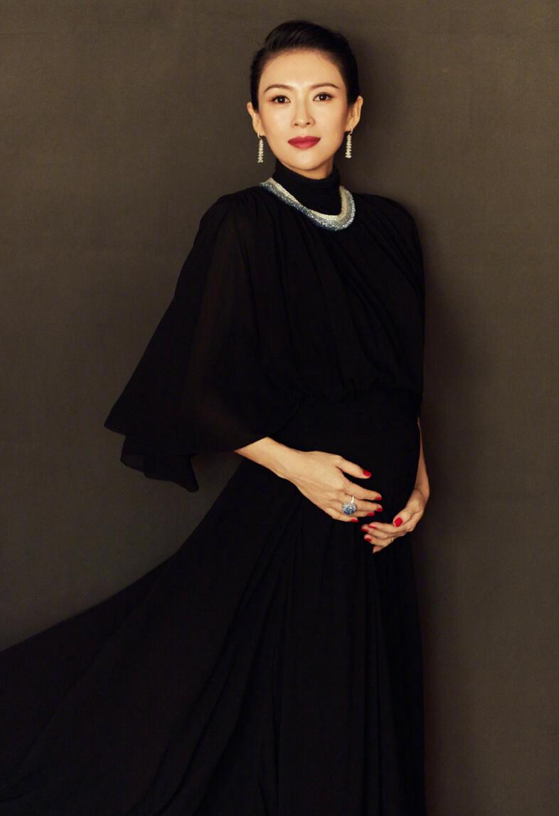 章子怡去年10月宣布懷孕