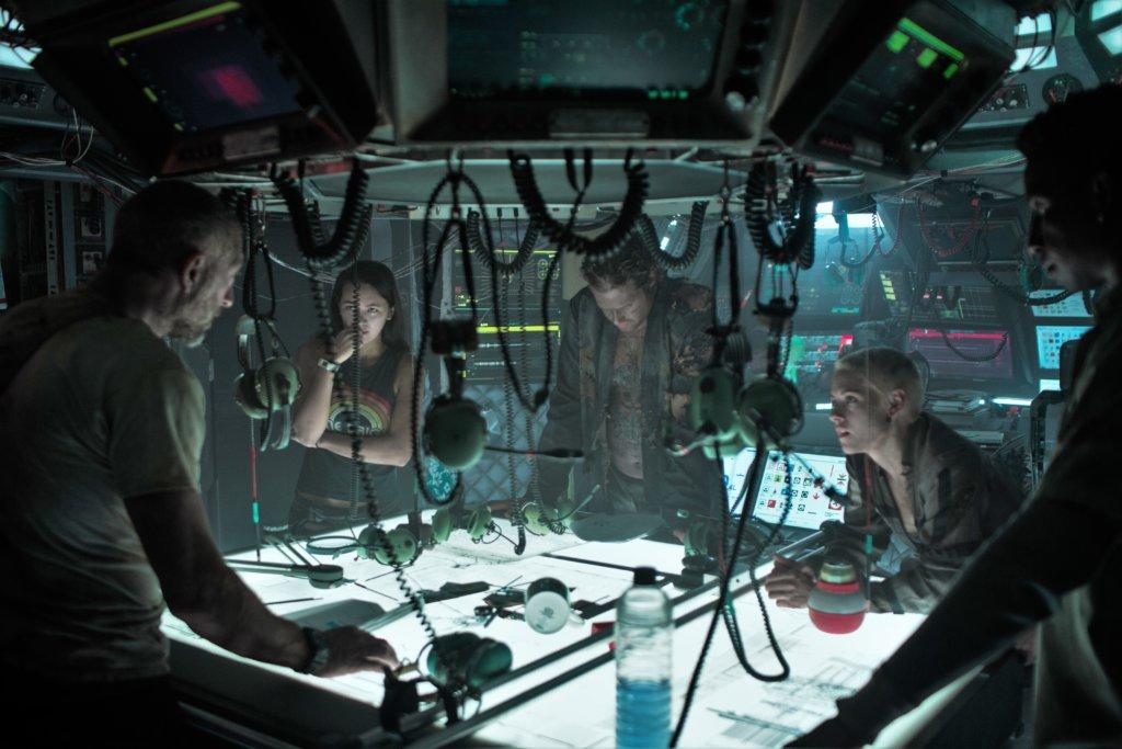 《深海異獸》的海底基地令人想起《異形》