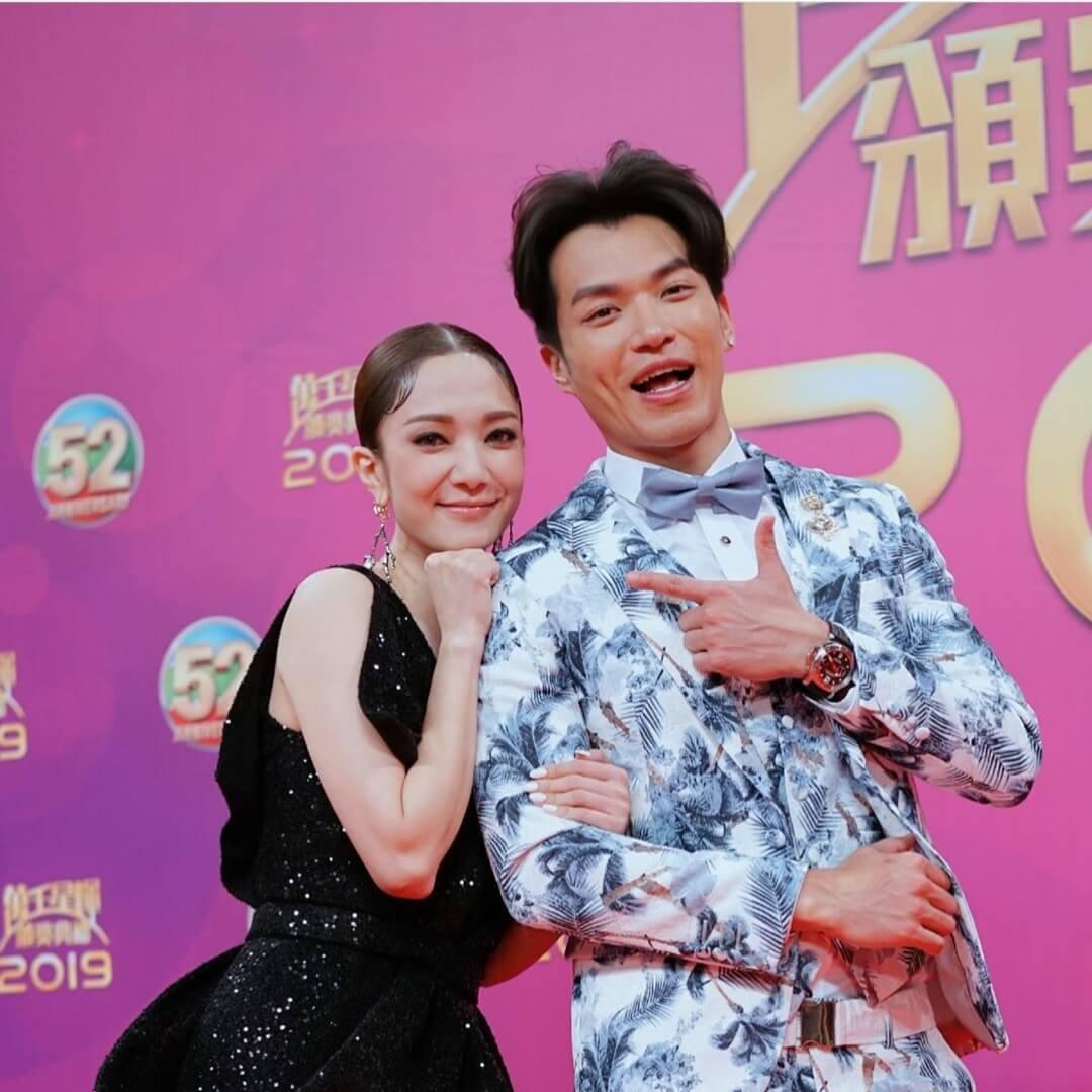 王君馨與許家傑合照令大家有什麼聯想?粉絲當然最想君馨加入《愛‧回家》的大家庭啦。