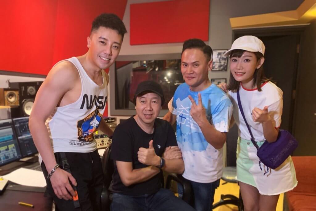 她早前與MFM成員羅嘉豪於馬來西亞錄音。