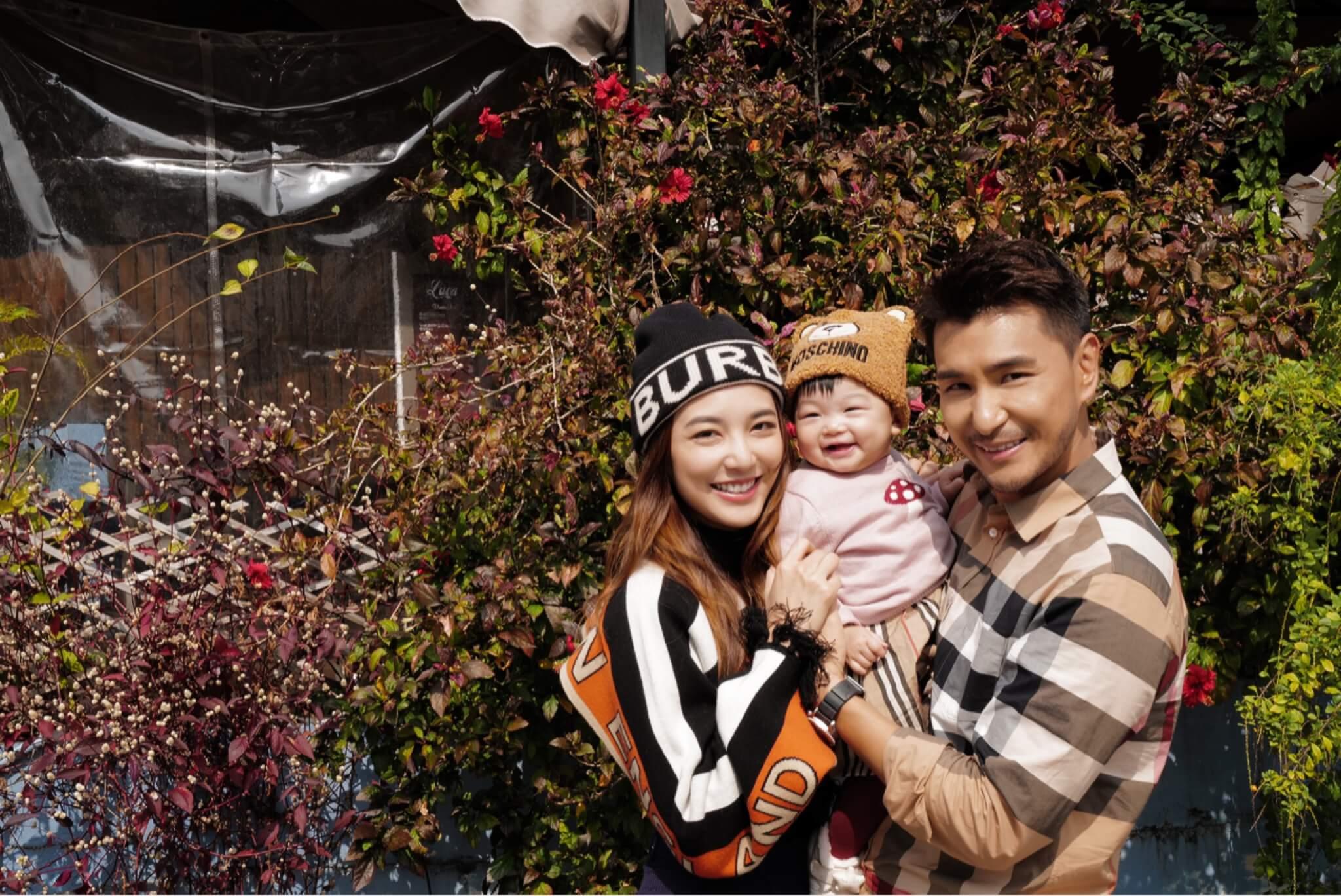 陳展鵬慶幸今年農曆新年前完成拍劇工作,可以一家三口一起過年。