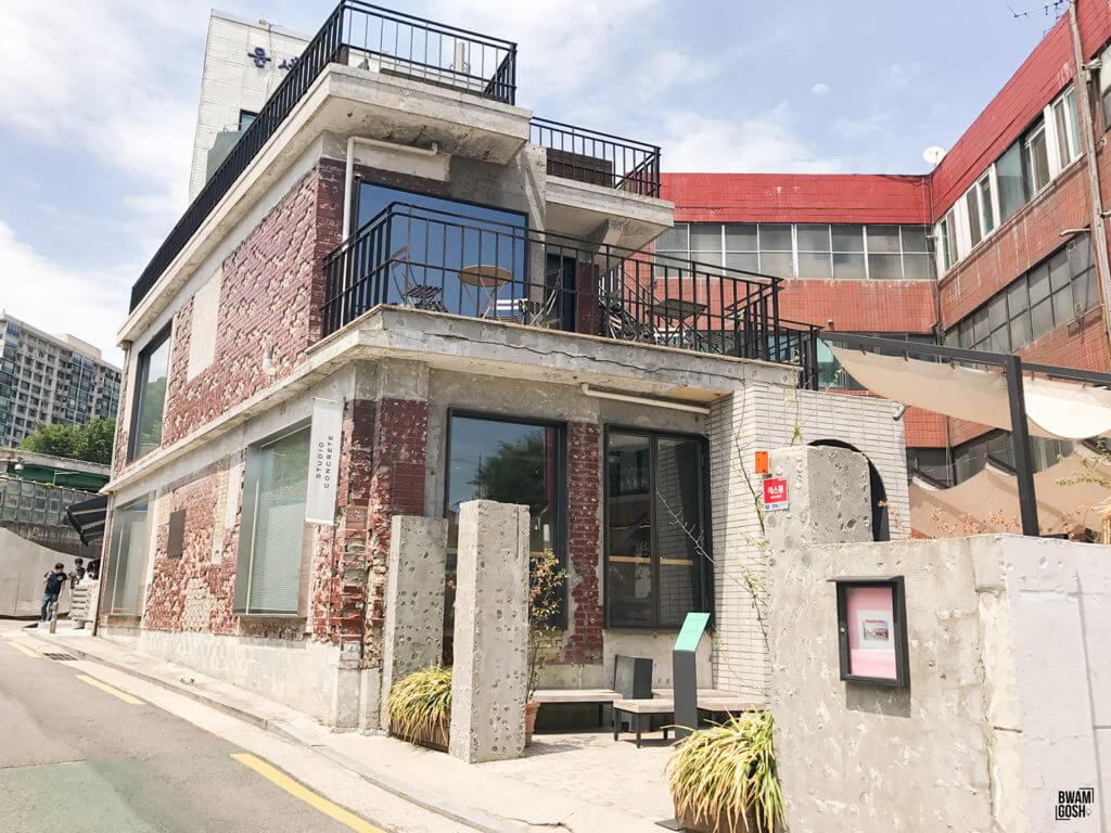 Studio Concrete 包羅展覽空間及咖啡店