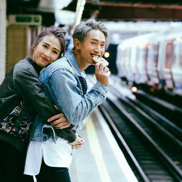 陳柏宇和符曉薇因拍電影而認識,拍拖不久便公開承認。