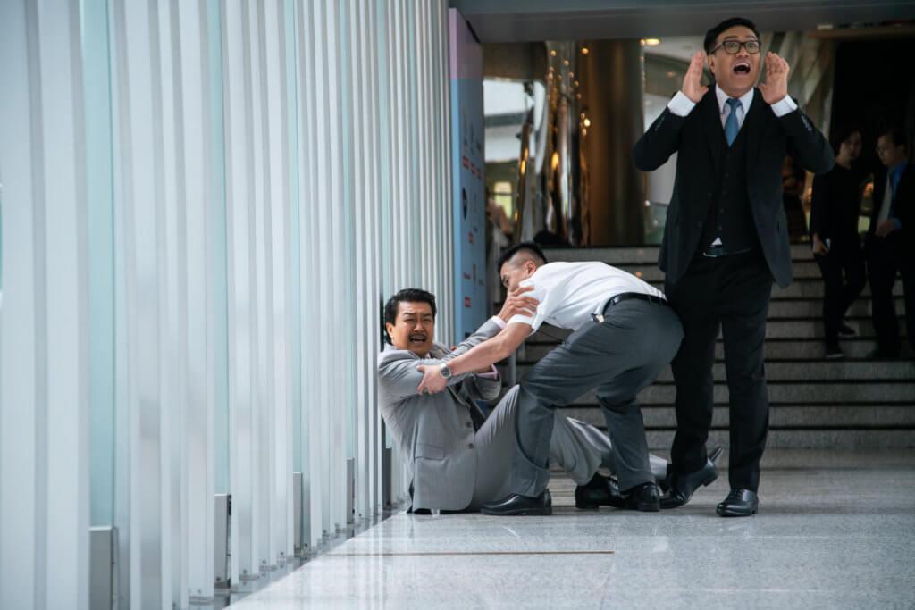 魯振順近日在劇集《多功能老婆》中,飾演黃錦燊的助理筍Sir