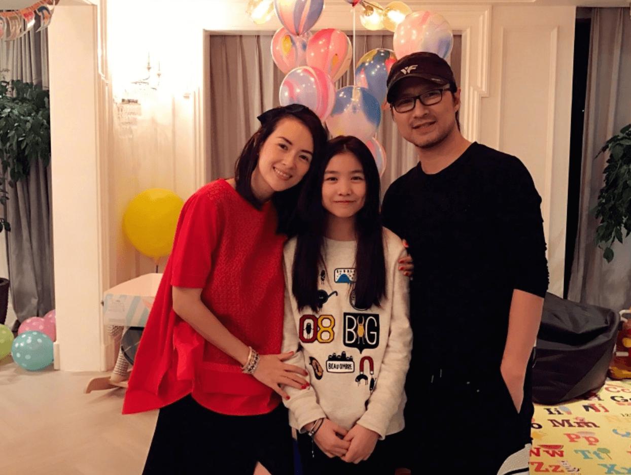 汪峰、章子怡與長女熙熙