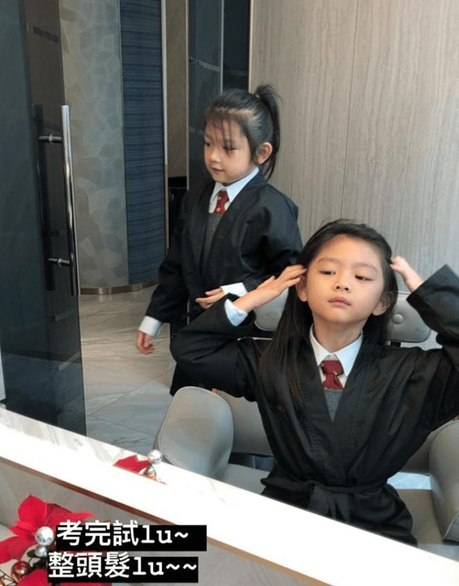 兩姊妹去剪頭髮