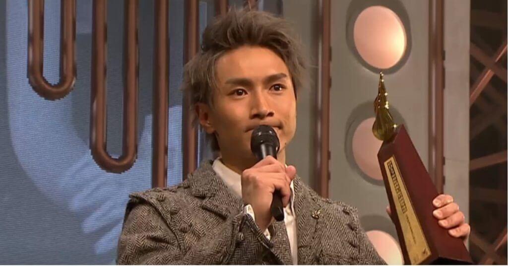 陳柏宇一七年度奪得叱咤樂壇我最喜愛的男歌手