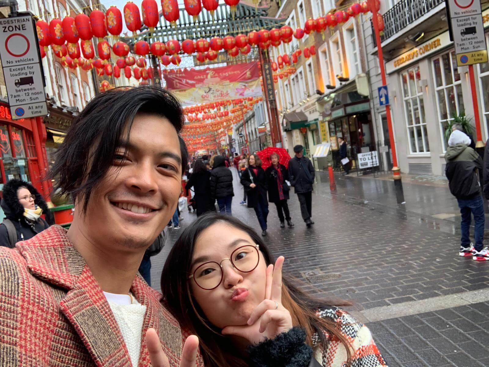 黎振燁與太太讀中學時已開始拍拖,直到一五年,他突然向對方求婚。