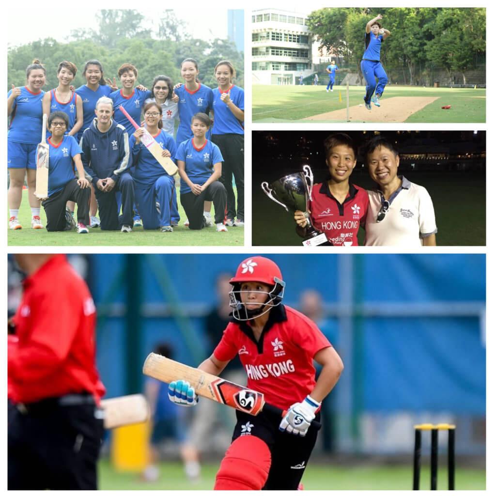 陳嘉瑩和女子板球隊的隊員建立了深厚感情。