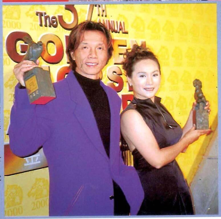 ○○年,太保憑《運轉手之戀》奪金馬獎最佳男配角,最佳女配角是《沙河悲歌》的趙美齡。