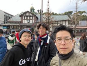 阿Lo早前與一對兒子林寶、林熙到日本旅行