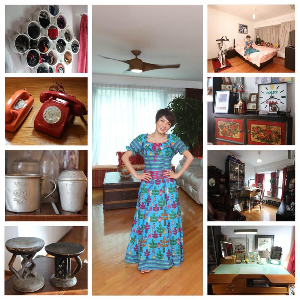 寶珮如將丈夫的收藏品融入生活,令整個家溫暖又舒適。