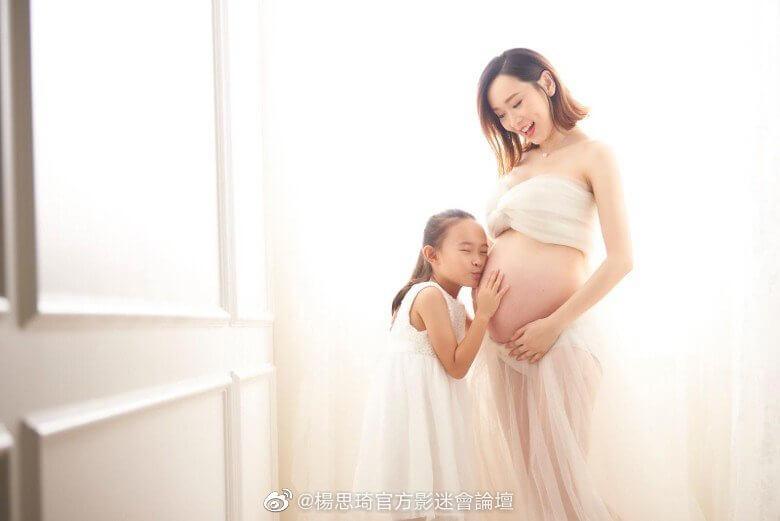 分娩前突然爆發疫症,令思琦每天提心吊膽,幸好早前已拍攝好大肚照和全家福。