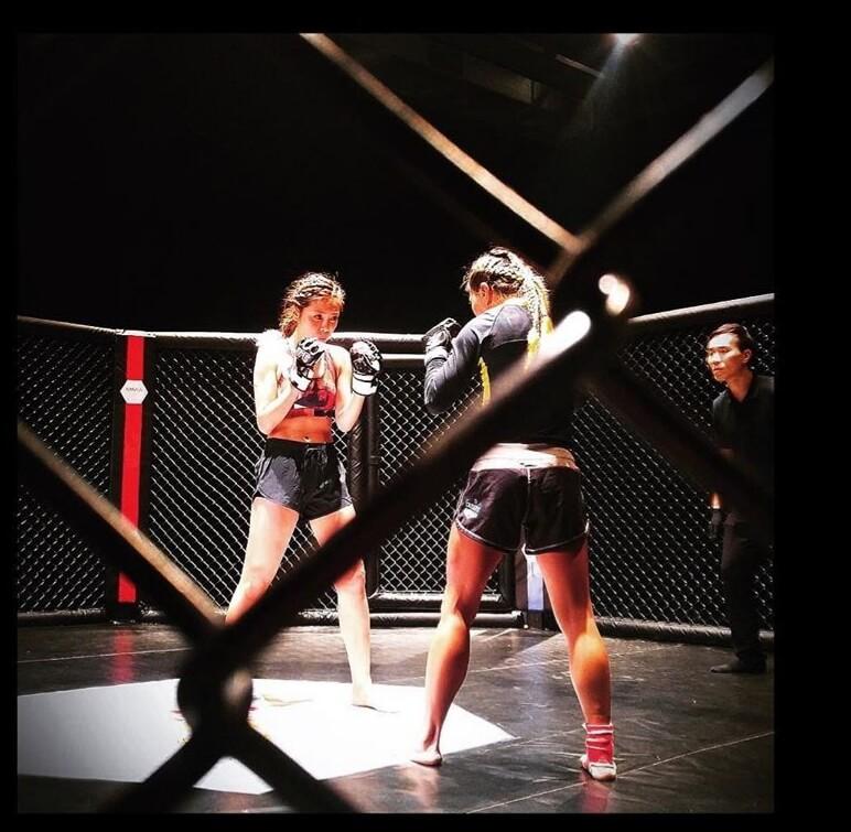 林慧倩是《激鬥女神》主角之一,她目前已積極練習巴西柔術,準備四月開拍《激鬥女神2》。
