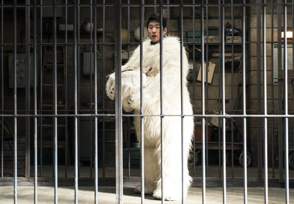 安宰弘化身北極熊,成功瞞騙大眾。