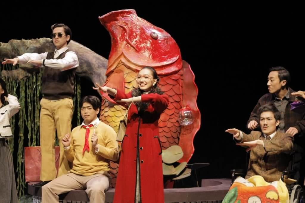 一六年於國立台北藝術大學的戲劇《尋找男子漢》表演