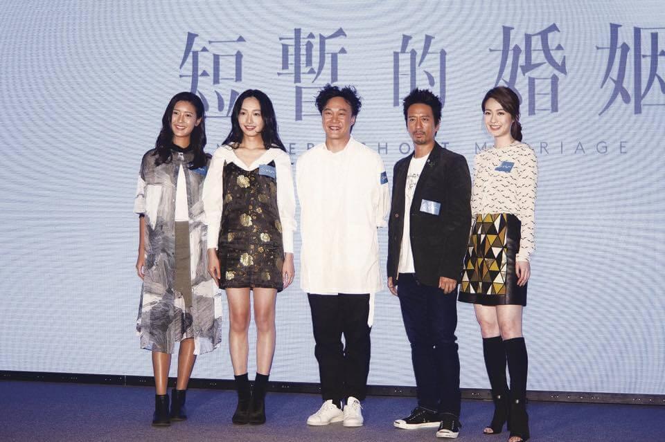 蔡思韵第一部作品是ViuTV的劇集《短暫的婚姻》,與陳奕迅合作。