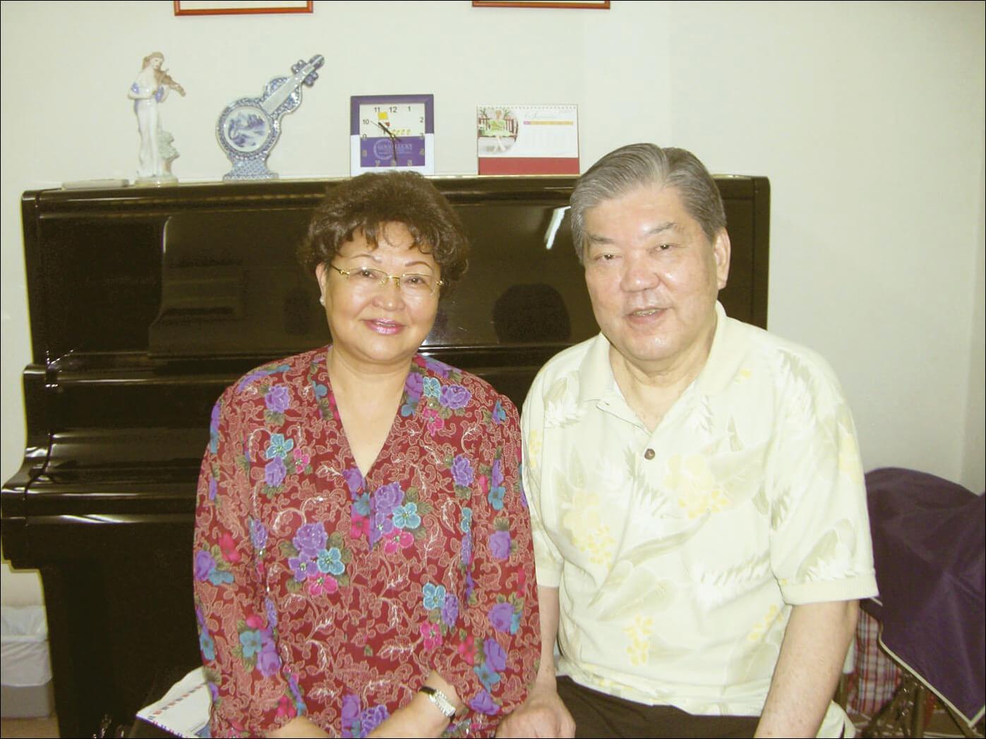 著名男高音林祥園視其上海音樂學院師妹鮑培莉為他平生的第一個貴人