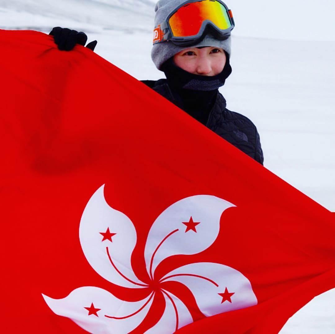 心悠去年在北極完成了人生第一個半馬