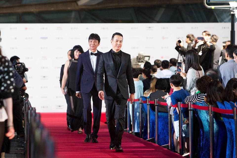 早前太保與電影《叔‧叔》台前幕後參與韓國釜山電影節