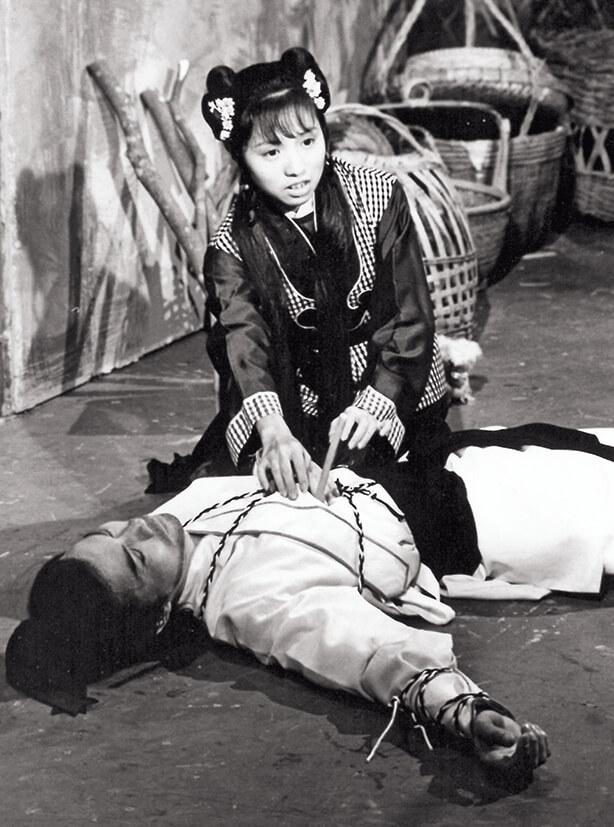 梅小青曾經在麗的武俠劇客串演出