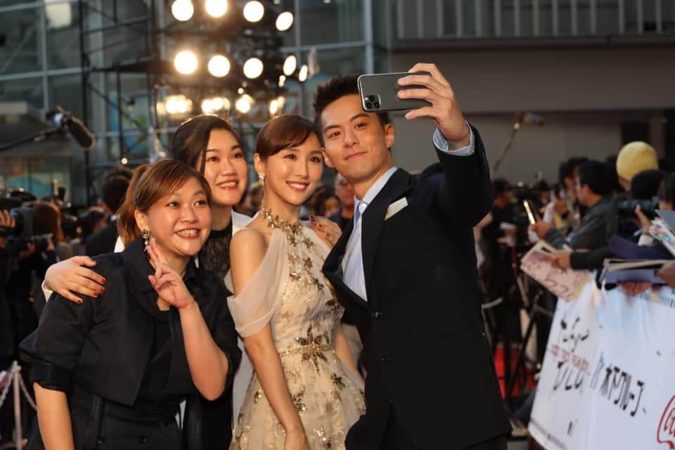 電影《Baby復仇記》台前幕後,早前參與東京國際電影節。