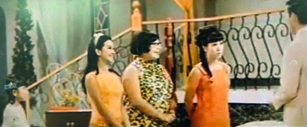 《梅蘭菊竹》的四妹飾演者珊珊只有五歲,但已挑起獨舞場面大樑,不輸姊姊們的寶珠家燕和肥肥。長大後珊珊,就是今天的呂珊。