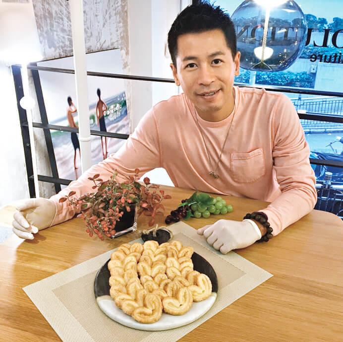 除了演藝工作,蔡國威創立了自家曲奇品牌Ensoul。
