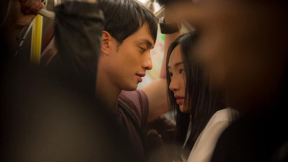 蔡思韵與劉俊謙在戲中有不少親熱戲,她坦言有點尷尬。