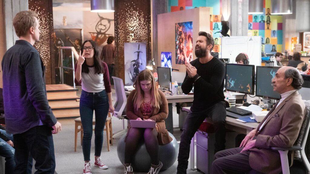 《神話任務:黑鴉之宴》講述遊戲開發工作室的幕後生活,搞笑過癮。