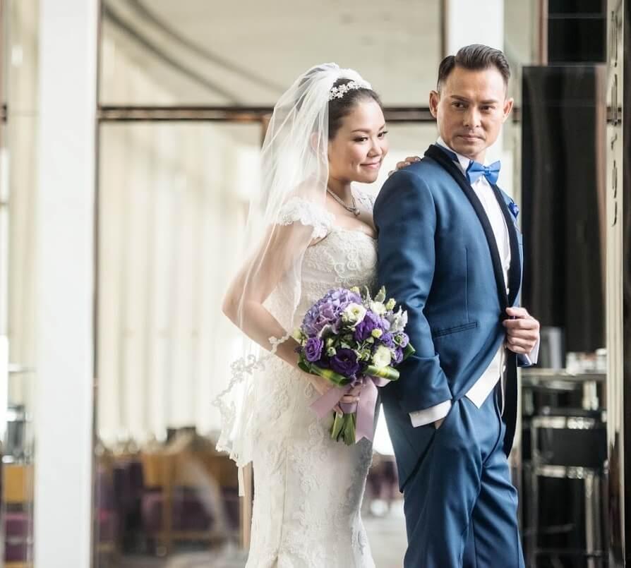 海俊傑與太太Effie同是到北京工作的港人,一七年結婚。