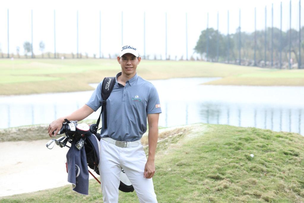 張雄熙認為哥爾夫球運動充滿挑戰和樂趣。