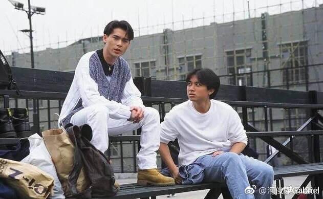 海俊傑九五年的劇集《總有出頭天》,與古巨基演初出茅廬的年輕人。