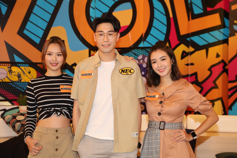 馮盈盈、陸浩明、麥明詩主持的《#後生仔傾吓偈》深受年輕觀眾歡迎。