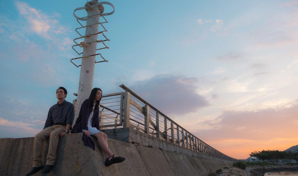 蔡思韵與劉俊謙因電影《幻愛》戲假情真,變成真情侶。