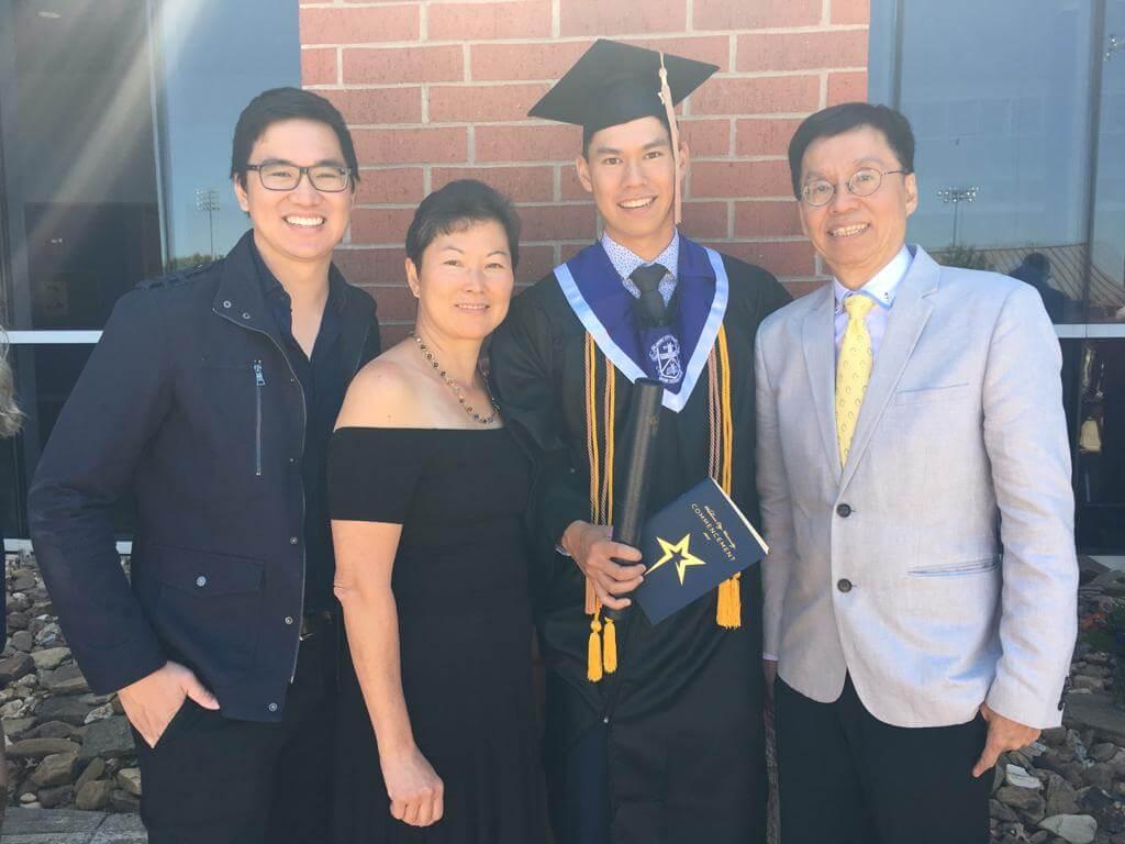 張雄熙感謝父母、哥哥一直以來支持他追夢。
