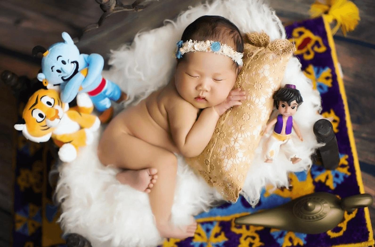 熟睡中的Jasmine