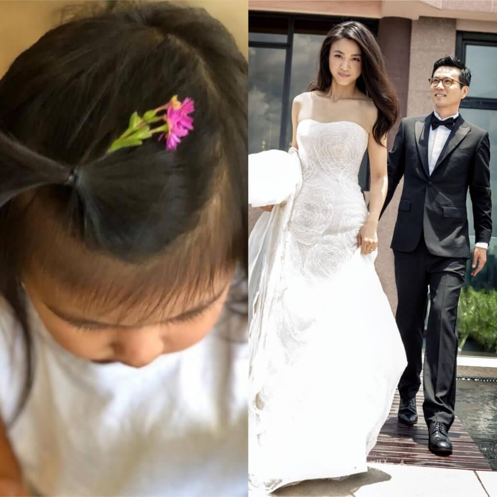 導演金泰勇跟湯唯婚後育有一女Summer,不過湯唯對女兒十分維護,相片不會有樣見。