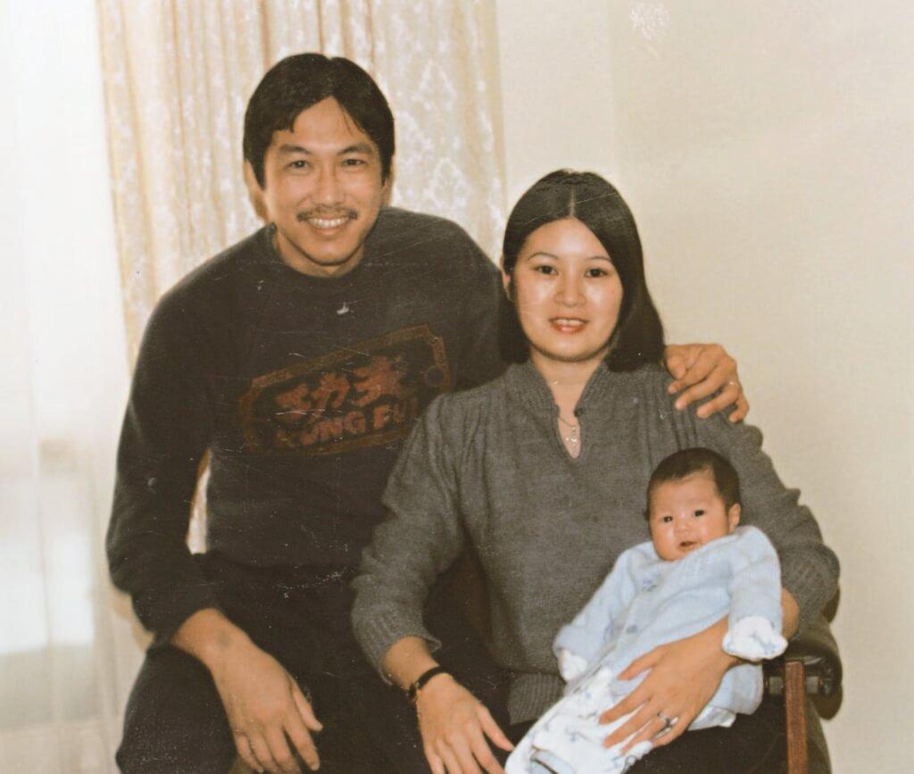于洋與太太早年移民加拿大,兒子在多倫多出生長大。