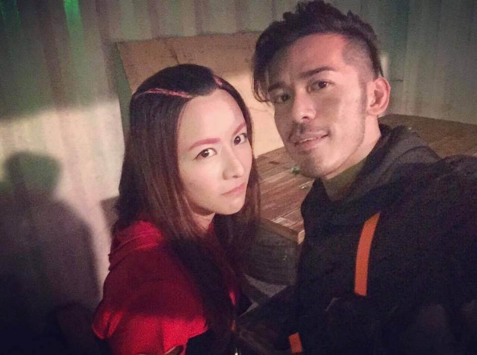 沈震軒與女友陳欣妍拍拖三年多,感情穩定,大讚女方性格簡單。