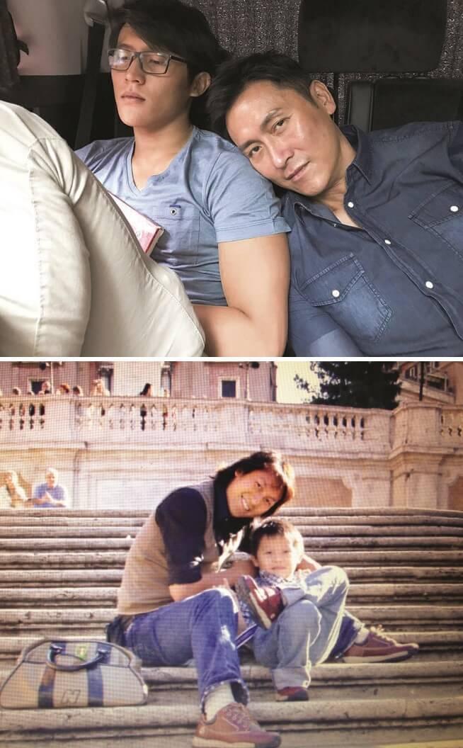 馬德鐘與張筱蘭1993年結婚,1998年誕下兒子馬在驤;馬神保養得宜,與兒子猶如兩兄弟。